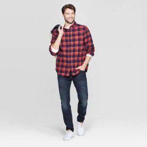 NWT Goodflellow & Co Flannel Button Down LS Shirt